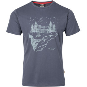 Rab Stance Tee Men Steel